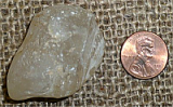 CLEAR/WHITE TOPAZ CRYSTAL (BRAZIL) #35