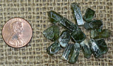 GREEN DIOPSIDE CRYSTALS #8