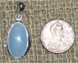 Angelite (Angel Crystal) (Soft Celestial Blue)