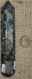 BLUE QUARTZ and PINK FELDSPAR/LLANOITE/LLANITE MASSAGE WAND #8