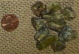 GOLD/GREEN SPHENE CRYSTALS #5