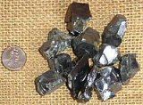 NOBLE SHUNGITE/ SILVER SHUNGITE/ELITE SHUNGITE CRYSTALS #3