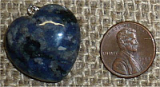 STERLING SILVER SODALITE PENDANT #13