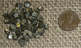 GOLDEN PYRITE DODECAHEDRONS #2