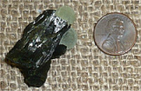 EPIDOTE WITH PREHNITE CRYSTAL #1