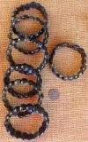 HAWK'S EYE/TIGER EYE STRETCHY BRACELETS #1