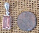 STERLING SILVER IMPERIAL TOPAZ PENDANT #5