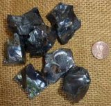 NOBLE SHUNGITE/ SILVER SHUNGITE/ELITE SHUNGITE CRYSTALS #6