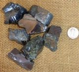 NOBLE SHUNGITE/ SILVER SHUNGITE/ELITE SHUNGITE CRYSTALS #7