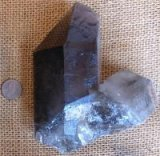 ERODED SMOKEY QUARTZ CRYSTAL #42