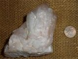 LITHIUM CANDLE QUARTZ/PINEAPPLE QUARTZ CRYSTAL #41