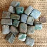 BLUE KYANITE/GREEN KYANITE/MICA TUMBLES #1