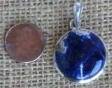 STERLING SILVER SODALITE PENDANT #11