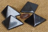 POLISHED SHUNGITE PYRAMIDS #1