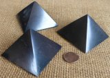 POLISHED SHUNGITE PYRAMIDS #3