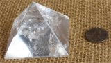 CLEAR QUARTZ PYRAMID #7