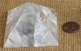 CLEAR QUARTZ PYRAMID #10