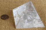 CLEAR QUARTZ PYRAMID #13