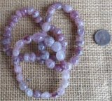LEPIDOCROCITE IN QUARTZ STRETCHY BRACELETS #1
