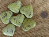 Green Opal (Madagascar) Shapes and Tumbles