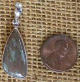 STERLING SILVER NUNDERITE PENDANT #5