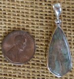 STERLING SILVER NUNDERITE PENDANT #6