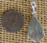 STERLING SILVER NUNDERITE PENDANT #4