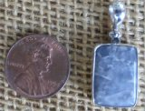 STERLING SILVER LAVENDER QUARTZ (ARIZONA) PENDANT #6