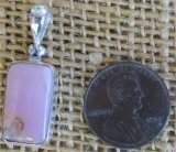 STERLING SILVER BUSTAMITE PENDANT #11