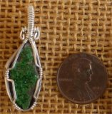 Uvarovite/Green Garnet Jewelry