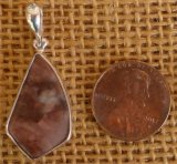 STERLING SILVER SEDONA PINK PENDANT #9