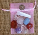 CRYSTAL SET FOR THE CHAKRAS (SPIRITUAL HEART CHAKRA) #2