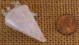 ROSE QUARTZ PENDULUM #3