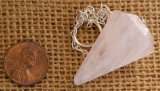 ROSE QUARTZ PENDULUM #5