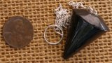 BLACK TOURMALINE PENDULUM #2