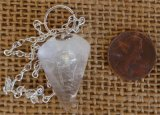 CLEAR QUARTZ PENDULUM #8