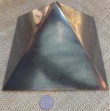 HAND POLISHED SHUNGITE PYRAMIDS #11