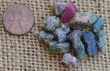 BI-COLOR TOURMALINE CRYSTALS #2