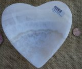 WHITE ARAGONITE HEART BOWL #3