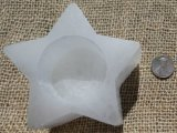 SATIN SPAR SELENITE STAR SPHERE HOLDERS #18