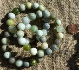 GREEN JADE STRETCHY BRACELETS #3