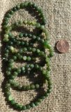 GREEN JADE STRETCHY BRACELETS #2