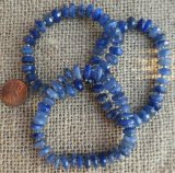 BLUE KYANITE (FACETED) STRETCHY BRACELETS #2