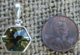 STERLING SILVER LEMON QUARTZ PENDANT #7