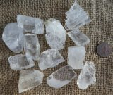 CLEAR/WHITE CALCITE WITH BARYTE/BARITE (ROUGH) #2