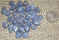 Tanzanite Crystals and Tumbles
